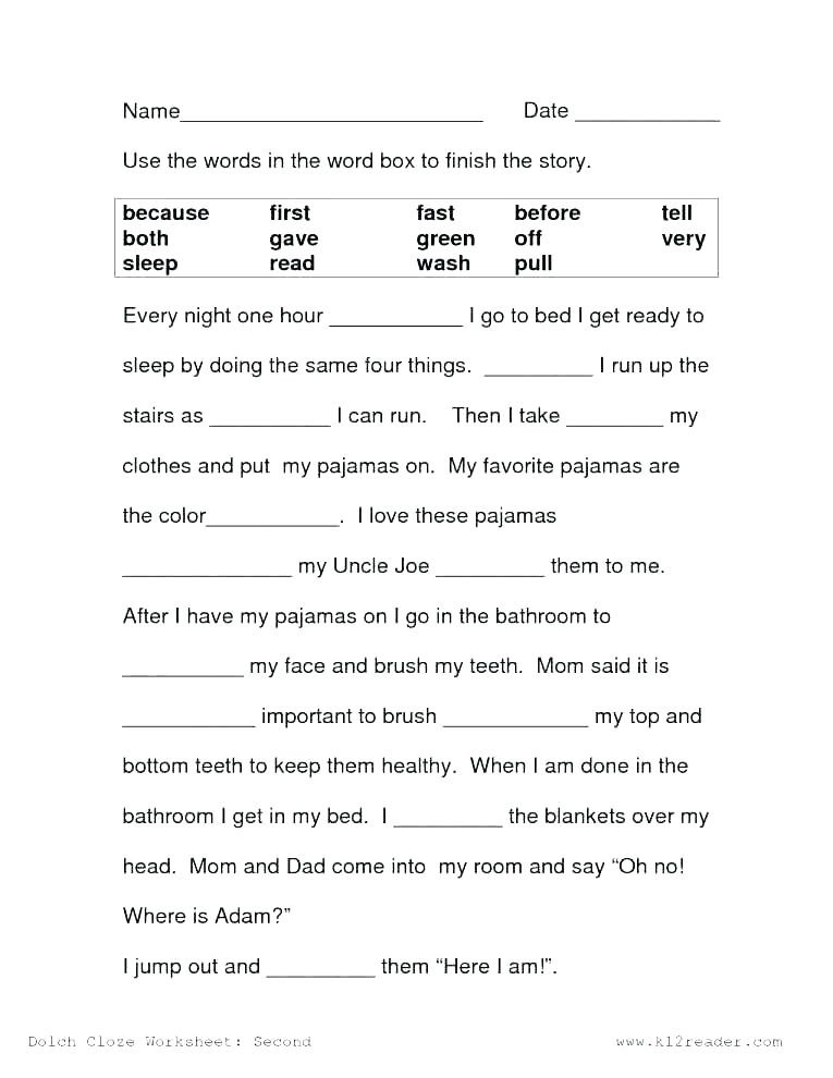 1st Grade Reading Worksheets Pdf Free Printable Worksheets Reading Prehension 2nd Grade لم