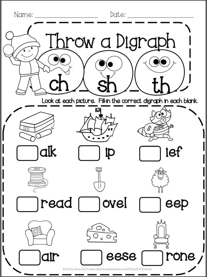 1st Grade Reading Worksheets Pdf Worksheet Ideas Word Familysheets Pdf for Pre Ksheet