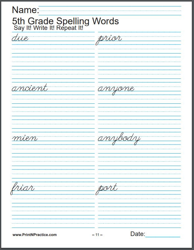 2nd Grade Spelling Worksheets 672 Printable Spelling Worksheets ⭐ Easy Spelling Practice