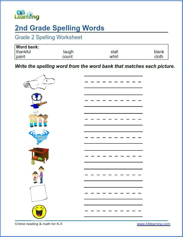 2nd Grade Spelling Worksheets Pdf Spelling Activities for 2nd Grade Spelling Menu Swirly Words
