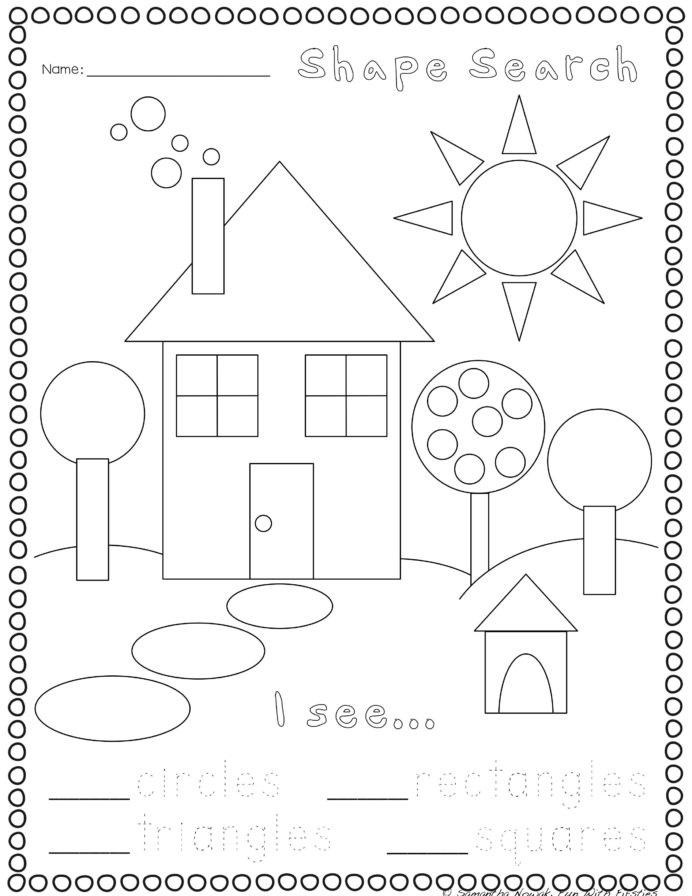 3d Shapes Worksheet Kindergarten Print Go Geometry Practice Worksheets Preschool Shapes
