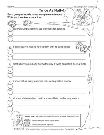 3rd Grade Editing Worksheets This Language Arts Worksheet Gives Students Practice Editing