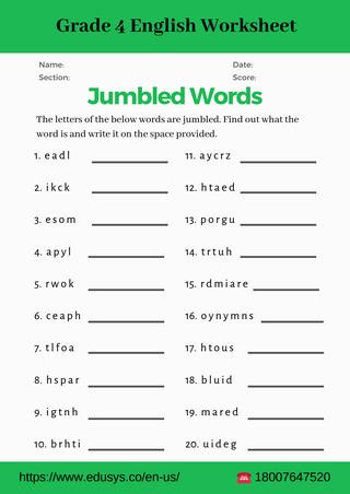 4th Grade Grammar Worksheets Pdf 4th Grade English Vocabulary Worksheet Pdf by Nithya issuu