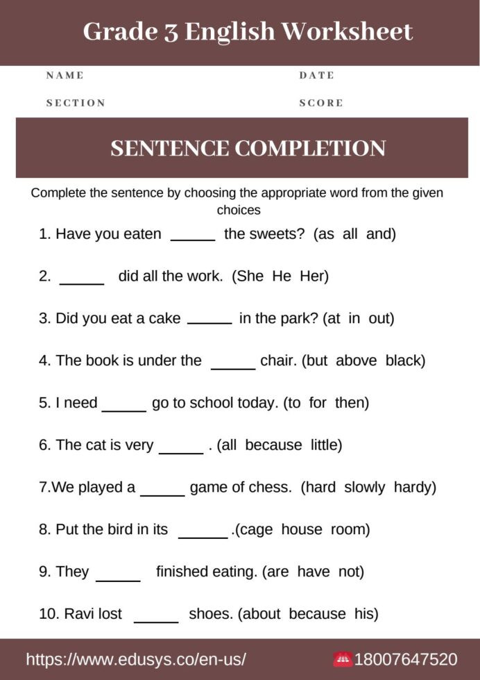 4th Grade Grammar Worksheets Pdf Exercises Unit Learn English Grammar Worksheets for Grade
