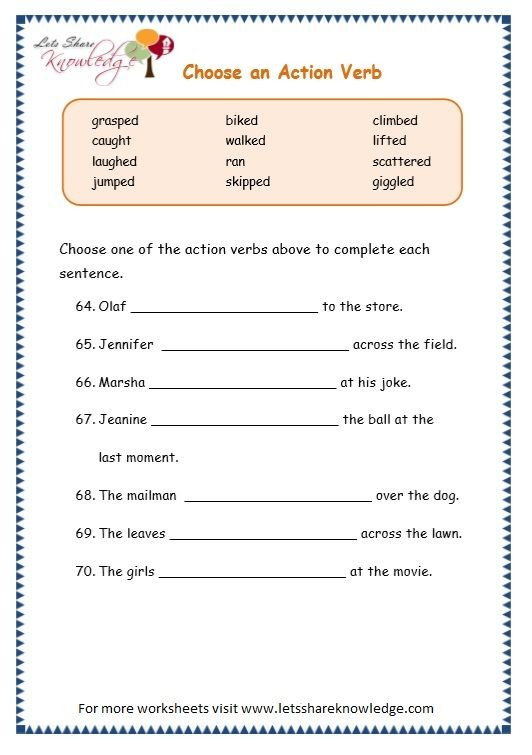 4th Grade Grammar Worksheets Pdf Grade English Resources Printable Worksheets topic Simple