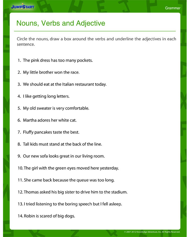 4th Grade Grammar Worksheets Pdf Worksheet 4th Grade Grammar Worksheets Image Inspirations