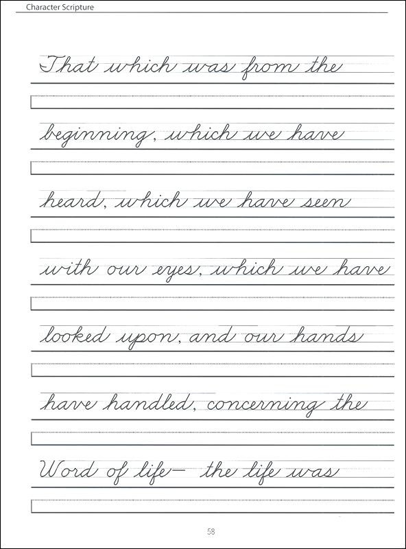 4th Grade Writing Worksheets Pdf Cursive Writing Worksheets Dotted Alphabet Handwriting