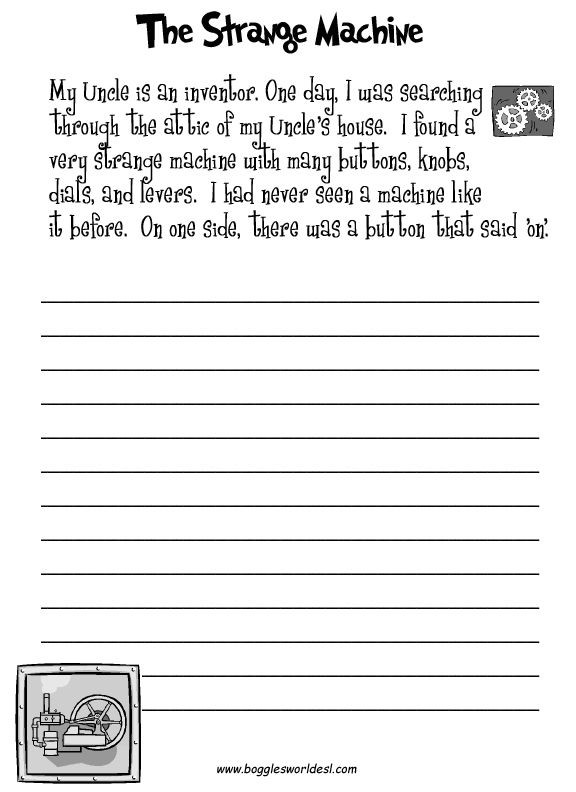 4th Grade Writing Worksheets Pdf Fun Creative Writing Prompts with Worksheets