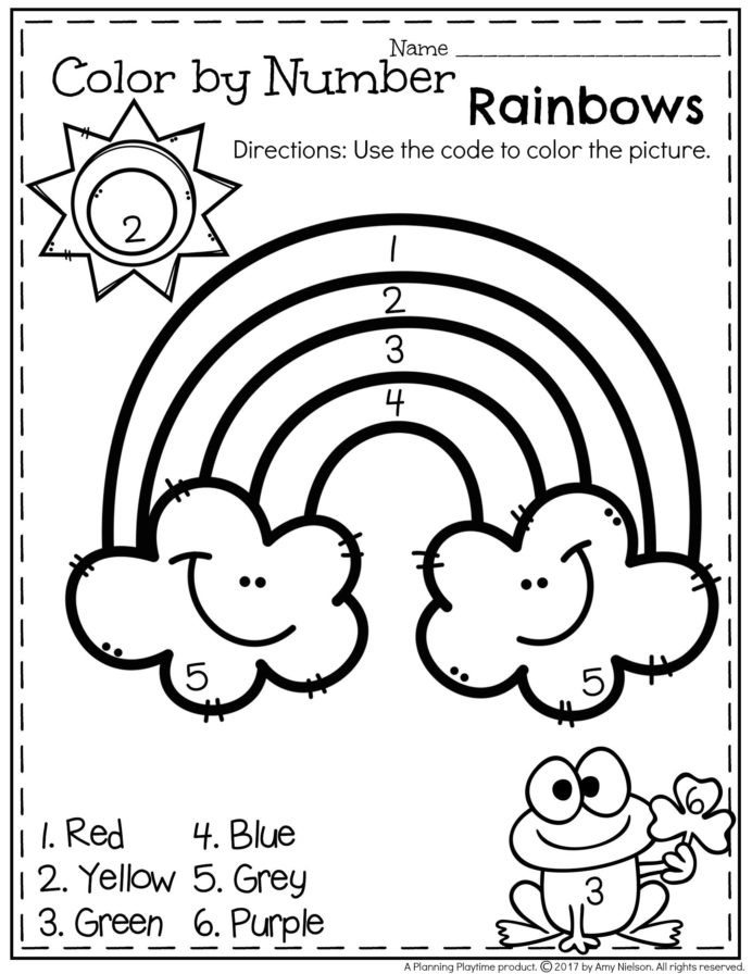 6th Grade Art Worksheets Art Worksheets for Preschoolers Printable and Bilingual Inch