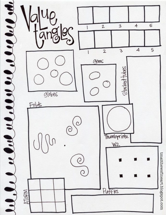 6th Grade Art Worksheets Fine Art First for March Week School Lesson Plans High