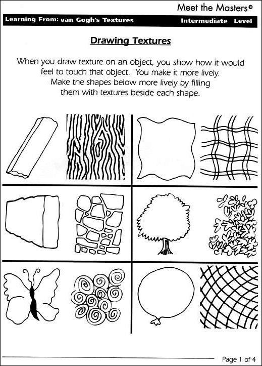 6th Grade Art Worksheets Step 2 Learning From the Masters — Meet the Masters