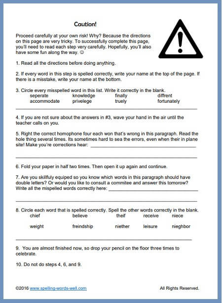 6th Grade Reading Worksheets Printable 6th Grade Worksheets to Challenge Your Students