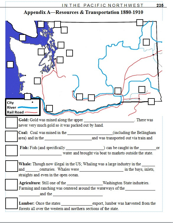 7th Grade Geography Worksheets 7th Grade Washington State History Lesson Plan Resource