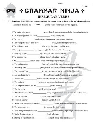 7th Grade Language Arts Worksheets Free Printable Noun Worksheets for 7th Grade
