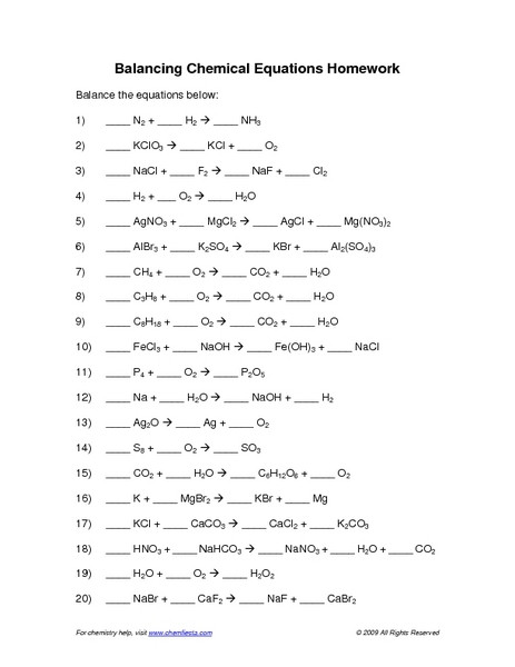 8th Grade Chemistry Worksheets 220 Best Science Images In 2020