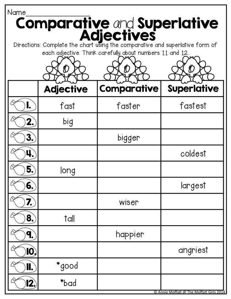 Adjectives Worksheets for Grade 1 November Fun Filled Learning Resources