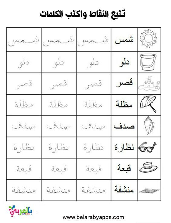 Arabic Alphabet Worksheets Printable Arabic Alphabet Practice Worksheet Printable