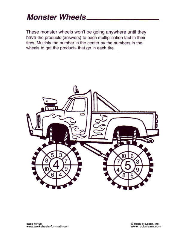 Automotive Math Worksheets Math Worksheet Mp08