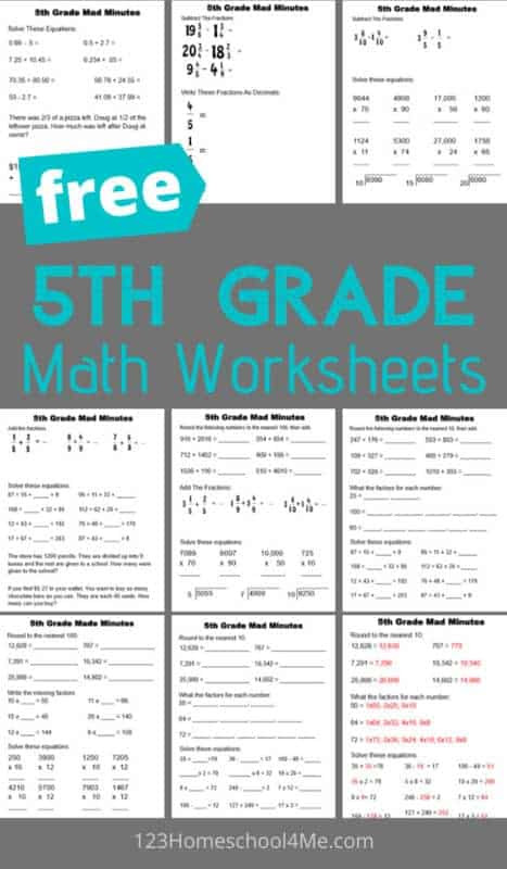 Baseball Math Worksheets 5th Grade Math Worksheets