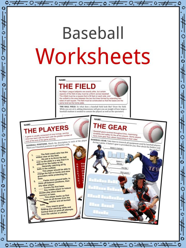 Baseball Math Worksheets Baseball Facts Worksheets Early Baseball & Rise Of the