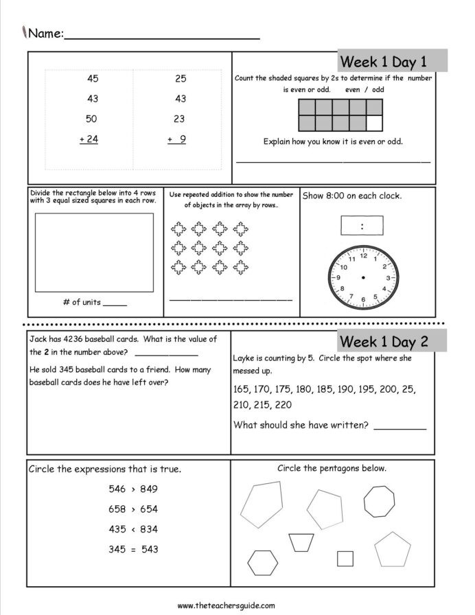 Baseball Math Worksheets Free 3rd Grade Daily Math Worksheets Review Dailymath3rd