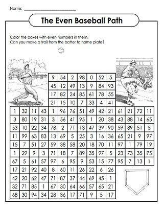 Baseball Math Worksheets Pin On Free Printable Math Worksheets