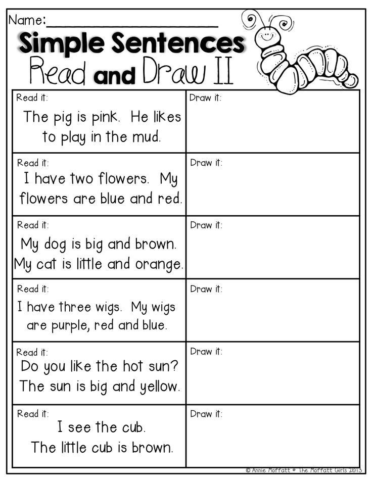 Complete Sentences Worksheets 1st Grade 1st Grade Writing Sentences Worksheets & Free Printables