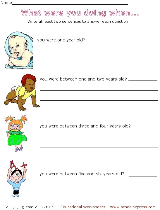 Complete Sentences Worksheets 2nd Grade Sentence Writing Answering Questions In Plete Sentences