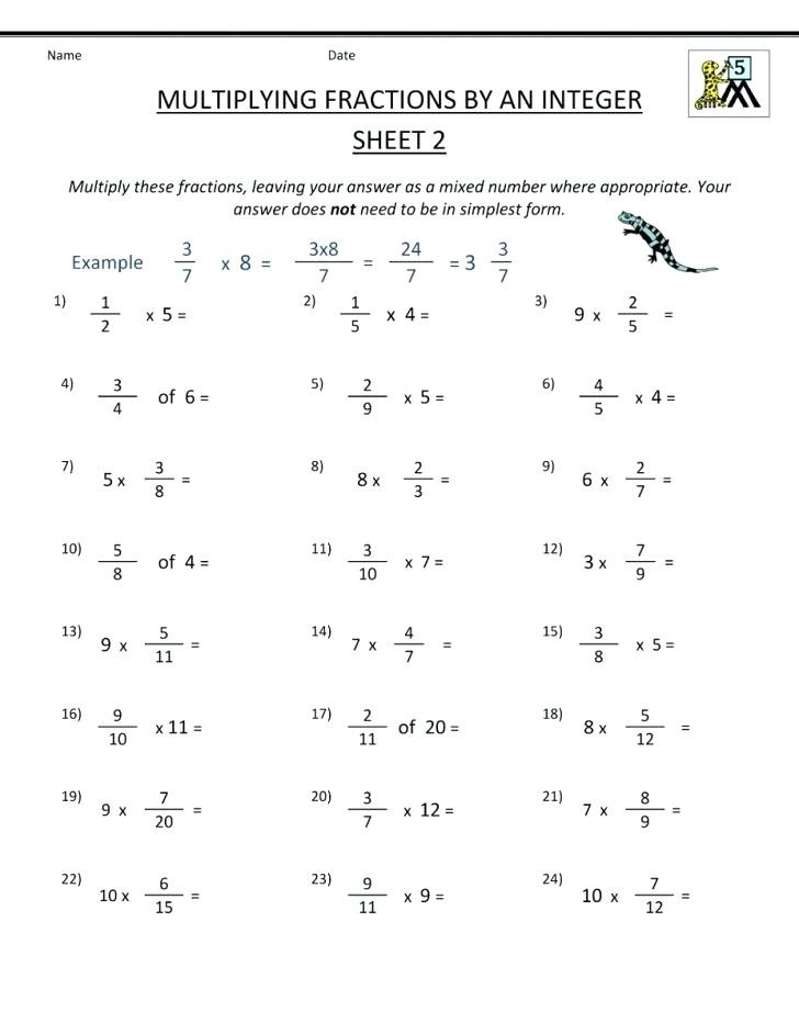 Conversion Worksheets 5th Grade Fraction Worksheets 5th Grade – Keepyourheadup