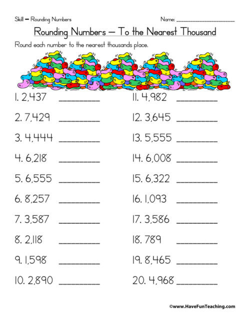 Estimation Worksheets 3rd Grade Estimation Worksheets • Have Fun Teaching