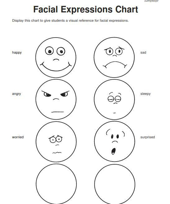 Feelings Worksheets for Kindergarten Emotions Worksheets for Kindergarten Worksheets for All