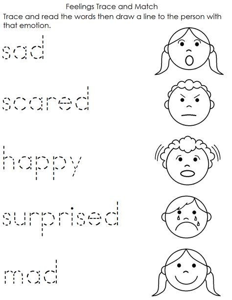 Feelings Worksheets for Kindergarten Worksheet English Worksheets for Kindergarten ordinal