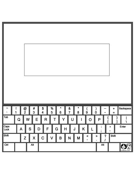 Free Printable Computer Keyboarding Worksheets Puter Keyboard Layout