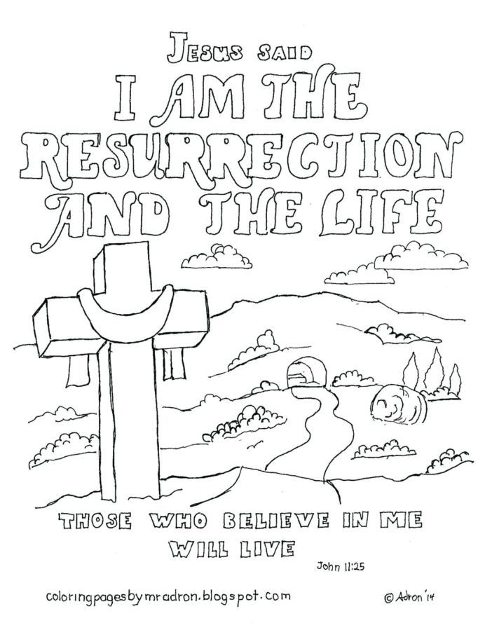 Free Printable Religious Worksheets Coloring Religious Easter to Print Free Printable Activities