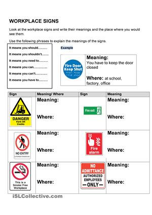 Free Printable Safety Signs Worksheets 9 Best Of Free Printable Signs for the Workplace