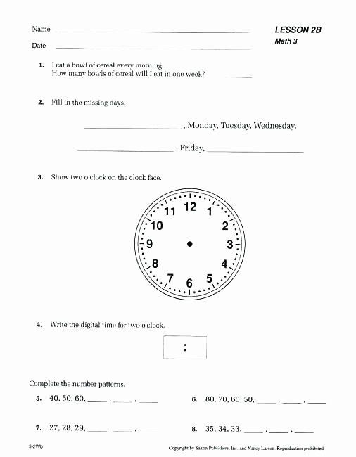 Free Saxon Math Worksheets Pin On Class Ideas