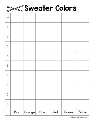 Graphing Worksheets Kindergarten Free Polling and Graphing Worksheets for Kindergarten 2nd