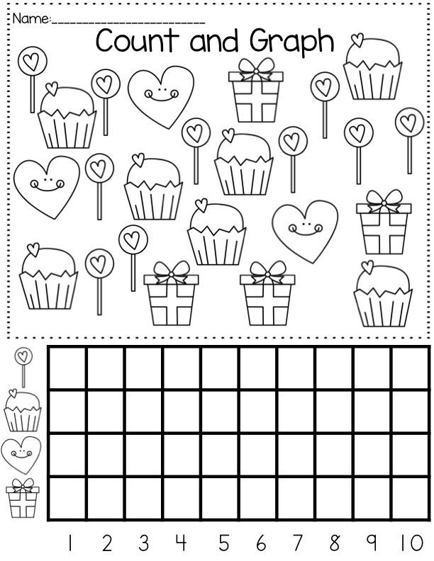 Graphing Worksheets Kindergarten Graph Worksheet for Kids