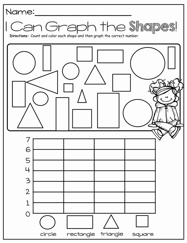 Graphing Worksheets Kindergarten Pin On Worksheet for Kids