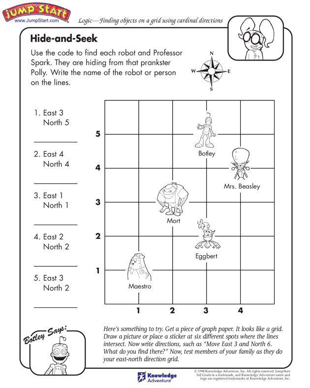 Grid Map Worksheets Grade 2 Image Result for Follow Pass Directions Worksheet