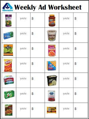 Grocery Store Math Worksheets Grocery Store Ads Empowered by them