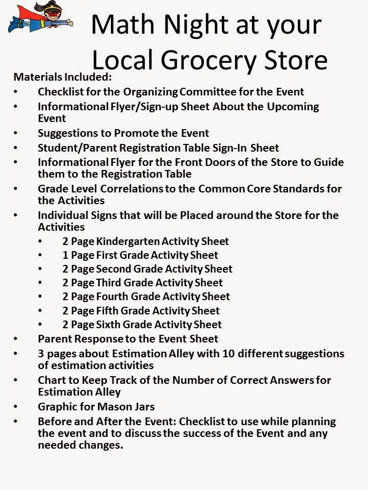 Grocery Store Math Worksheets Multi Grade Matters Ideas for A Split Class Family Math