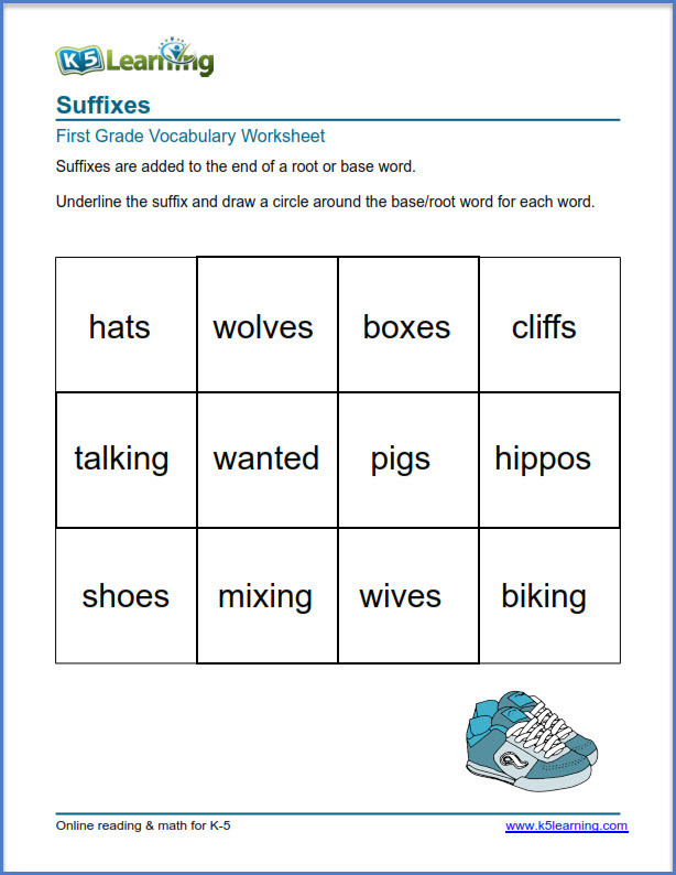 Ing Worksheets Grade 1 New Grade 1 Vocabulary Worksheets