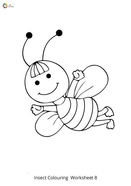 Insects Worksheets for Kindergarten Free Downloadable Insects Worksheets for Kids In 2020