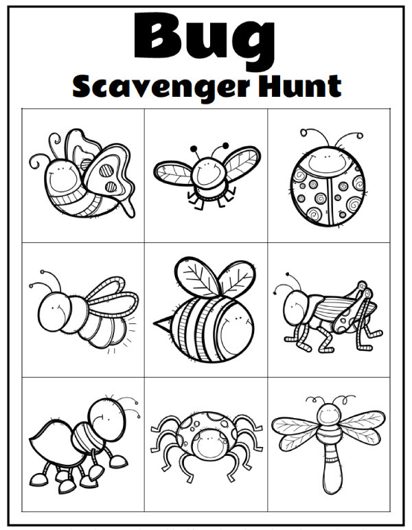 Insects Worksheets for Kindergarten Printable Preschool Bug Activities for Learning & Fun