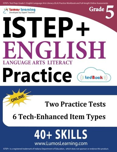 Istep Practice Worksheets 5th Grade istep Test Prep Grade 5 English Language Arts Literacy