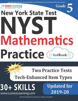 Istep Practice Worksheets 5th Grade New York State Test Prep 5th Grade Math Practice Workbook and Full Length Line assessments Nyst Study Guide Paperback