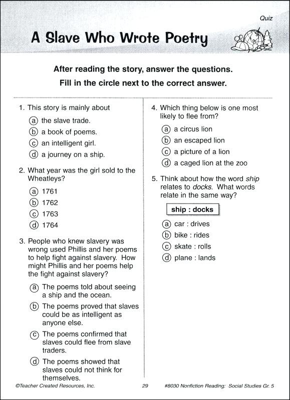 Istep Practice Worksheets 5th Grade social Stu S Questions for 5th Graders Grade social
