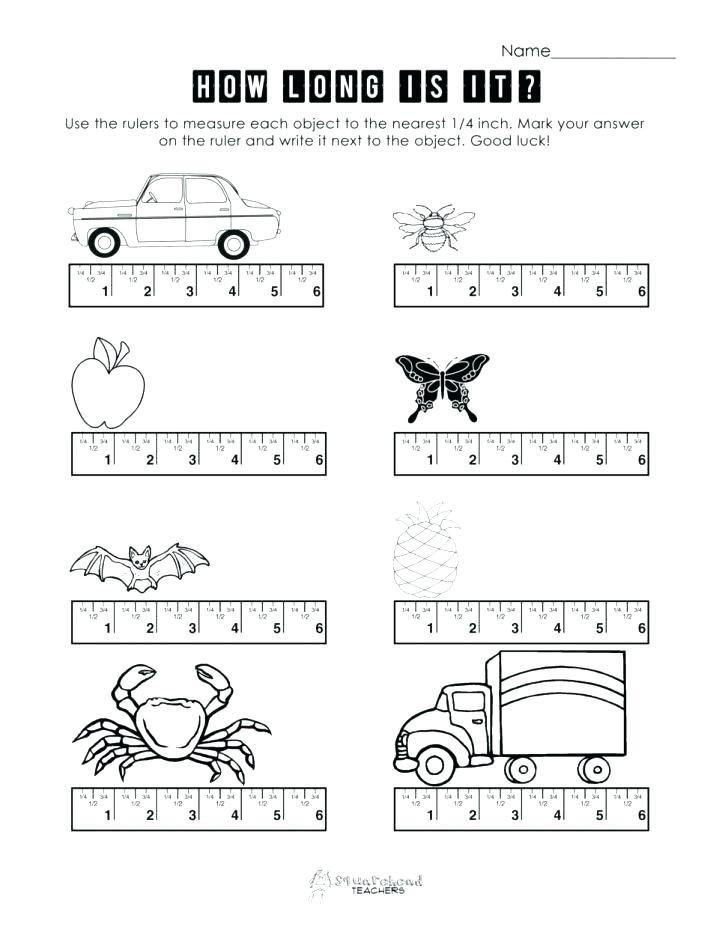 Kindergarten Measurement Worksheets Measuring Activities – Timothyfregosoub