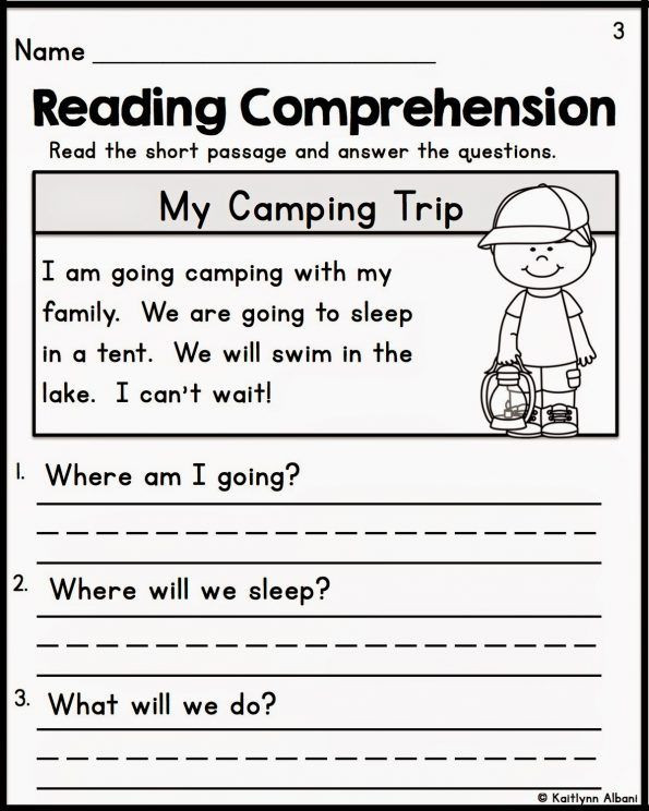 Kindergarten Reading Comprehension Worksheets Pdf Reading Prehension Kindergarten Worksheets Free Fiction